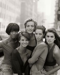 topmodels by Herb Ritts