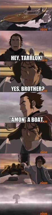 Of all of the creations of Korra fandom, Horrible Standup Comic Amon might be my favorite.