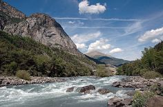 Kayak d'eau vive en Ubaye - Entre ciel et terre...