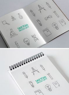 Today we have for you two high-quality, photorealistic free sketchbook MockUps that will help you display your sketches, drawings or other artworks in a professional manner. The PSD files include smart objects so you can add the designs with ease. Big thanks to Ash Flintfor providing us with this awesome resource. Format: Layered PSD Smart …