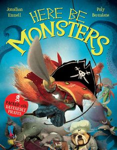 World Of Books, My Books, Pirate Pictures, Used Books Online, Pirate Adventure, Monster Cards, Treasure Island, Funny Stories, Book Activities