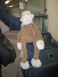 FOUND on TRAIN lift on Birmingham New Street via @Sarah Rennie on twitter  Found this little jellycat monkey in lift on Platform 3 Birmingham New Street He's in lost property with Network Rail