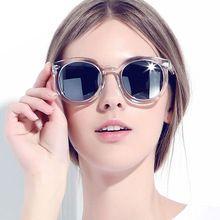 2016 verão Retro Oval óculos de sol mulheres Multicolor óculos feminino  óculos UV400 Oculos de sol f3304f1be5