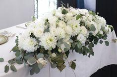 会場装花。 の画像|ウェディングブーケデザイナーの日記