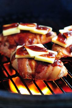 BBQ Chicken with Bacon and Cheddar Recipe {Giveaway} - Cooking | Add a Pinch | Robyn Stone