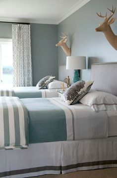 South Shore Decorating Blog: Wouldn't this be great? Twin (or triple) Beds for Sleepovers!