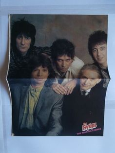The Rolling Stones Duran Mini Poster Greek Magazines clippings 80s 90s | eBay