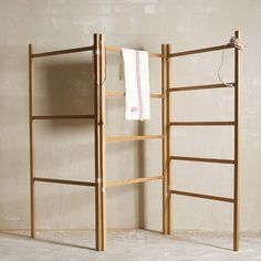 Objects of Design #179: Folding Wooden Clothes Horse - Mad About The House