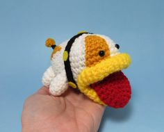 Crochet Poochy-Yoshi's Woolly World