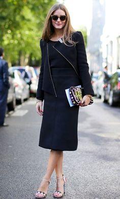 THE OLIVIA PALERMO LOOKBOOK: Street Style: Olivia Palermo at London Fashion Week
