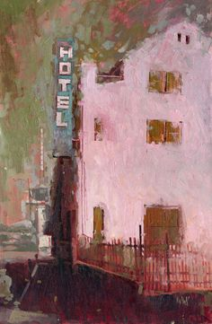 William Wray | Tumblr -Man, I love this green/pink color palette