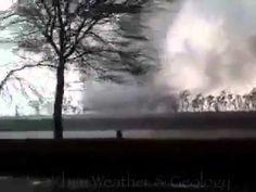 Tornado in Sialkot Pakistan