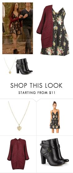 """""""Elena Gilbert - tvd / the vampire diaries"""" by shadyannon ❤ liked on Polyvore featuring ASOS, Alice + Olivia and Sole Society"""