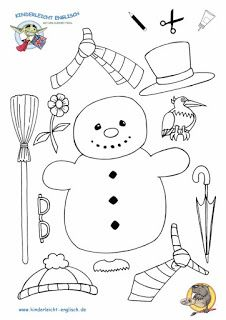 snowman craft for preschoolers Holiday Crafts For Kids, Christmas Activities, Winter Activities, Christmas Crafts, Christmas Colors, Christmas Fun, Schneemann Party, Theme Noel, Christmas Coloring Pages