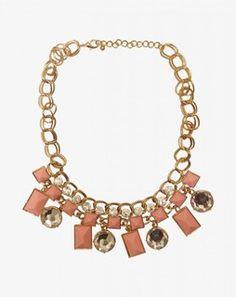 Perfect Poise Gemstone Neckpiece pinkMCSS13JEW0157101