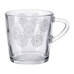 IKEA - VINTER 2015, Mug, Made of tempered glass, which makes the mug durable and extra resistant to impact.