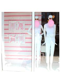 Window day in the pink bubble!