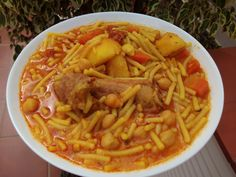 Italian Dishes, Italian Recipes, Spanish Food, Spanish Recipes, Flan, Thai Red Curry, Chili, Pasta, Ethnic Recipes