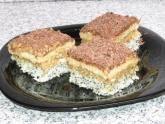 Prăjitură cu mac şi nucă de cocos Romanian Food, Dessert Recipes, Desserts, Tiramisu, Spices, Mac, Yummy Food, Sweets, Ethnic Recipes