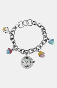 Betsey Johnson Cupcake Bracelet Watch available at #Nordstrom