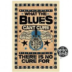 BLUES POSTERS MojoHand - Everything Blues™