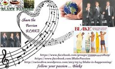 Hello! I would like to create a place for all of us Blake fans...to share and express our Passion for Blake♥ Blake Passion https://www.facebook.com/groups/359991444128229/ and  https://www.facebook.com/BlakePassion ♥Share the Passion♥ My Blake Blog http://swissdiva.wordpress.com/2013/05/26/stephen-humphrey-and-ollieblakewe-l♥ve-you-guys/