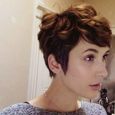 CODE Salon - San Francisco, CA, United States. Pixie Cut By Majolyn (Anne Hathaway Inspired) July 2014