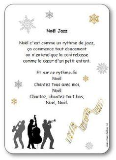 Paroles de la chanson Noël c'est comme un rythme de jazz ça commence tout doucement,on entend que la contrebasse,comme le cœur d'un petit enfant.Noël jazz
