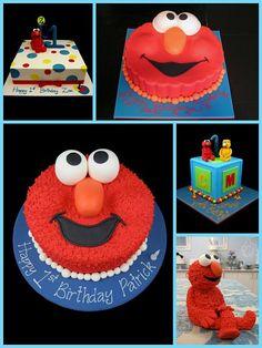 elmo cake designs inspired by michelle cake designs