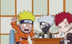 Naruto Gaara Kakashi HD Wallpaper