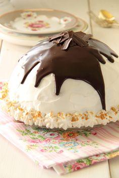 Chocolate Igloo Cheesecake....<3
