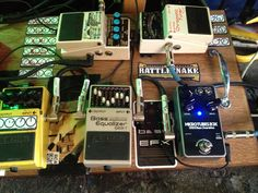 BassEFX and Darkglass Electronics Microtubes Winner - Effects Bay Bass Pedals, Guitar Pedals, Guitar Effects Pedals, Pedalboard, Rigs, Boards, Electronics, Good Music, Guitars