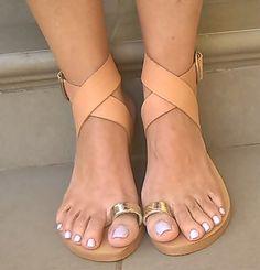 Bohemian sandales en cuir sandales en cuir par chicbelledejour