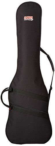 Gator GBE-BASS Bass Guitar Bag  $  24.99   Bass Guitars Product Features     Nylon construction with 10mm internal padding   Reinforced interior at headstock & bridge   Exterior pocket for accessories & comfortable shoulder strap         Bass Guitars Product Description   Gator Cases GBE series guitar gi ..  http://www.guitarhomes.com/gator-gbe-bass-bass-guitar-bag-43/
