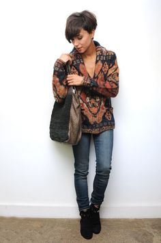 Gilet Denim & Supply Jean Denim & Supply Sac Claramonte Bottines House of Harlow