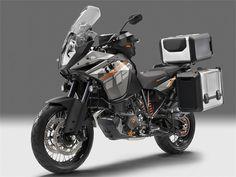 KTM 1190 adventure com baus