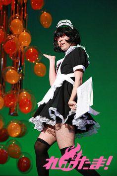 Sakurai Takahiro as a maid....interesting