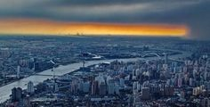 From such a height and angle, you can see the endless Huangpu River, and the amazing orange near the skyline. 'Beyond the Clouds'—This Is Shanghai From Almost 2,000 Feet Above http://www.visiontimes.com/2015/05/11/beyond-the-clouds-this-is-shanghai-from-almost-2000-feet-above.html