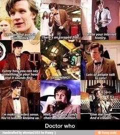 The best matt smith quotes as the eleventh doctor