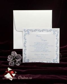 Invitatii Nunta 2374 | Invitatie cod 2374 din catalogul Rahwanji