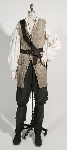 Pirate / costuming   William Turner's Costume.