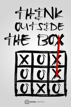 People don't naturally think outside the box. Big picture is God's picture. It takes time to turn a big ship around. I can not wait to watch Him begin to work! It is not at all what I thought it might be which is even more awesome. Love comes in all different forms. He had to show me to think different first.