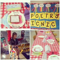 *Teaching Maddeness* Poetry Picnic for the end of a poetry unit! I love this blog!