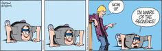 Zits   By Jerry Scott and Jim Borgman - Push Up contest