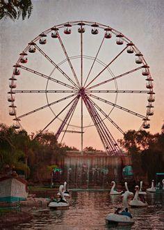 Dusk at the Fair by Robin Epstein