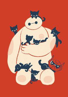 Poster | KITTENS! von Jay Fleck