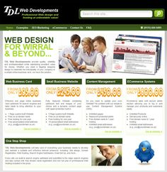 TDL Web Developments will take care of everything your business needs to develop and maintain a suitable and effective Internet presence, including: Site design, Domain Registration, Web Hosting, Search Engine Submission, Email Set Up, and more...    View the Website at www.tdlwebs.co.uk