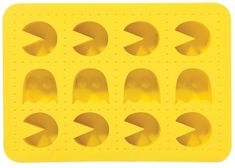 Black Friday 2014 Pac-Man Silicone Ice Cube Tray from Paladone Products Cyber Monday. Black Friday specials on the season most-wanted Christmas gifts. Ice Cube Molds, Ice Cube Trays, Ice Cubes, Ice Tray, Chocolates, Pac Man Party, Mens Gadgets, Video Game Party, Video Games