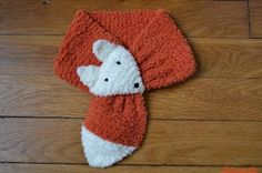 tricot echarpe renard tuto