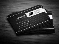 Creative Employee Business Card Templates Business card - perfect for any idustry. x with DPI CMY by bouncy Business Brochure, Business Card Logo, Business Card Design, Fashion Business Cards, Creative Studio, Creative Business, Find Fonts, Stationary Design, Script Type